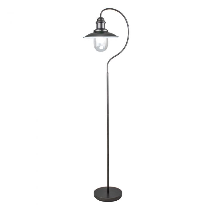 Image for Knot Black Fisherman 158cm Floor Lamp