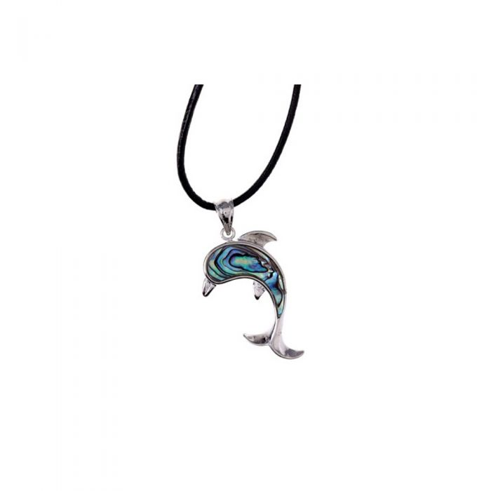 Image for Abalone Dolphin Pendant
