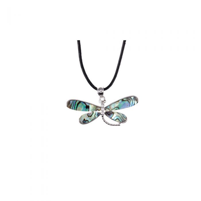 Image for Abalone Dragonfly Pendant