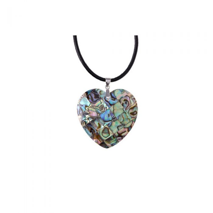 Image for Abalone Heart Pendant and 925 Silver