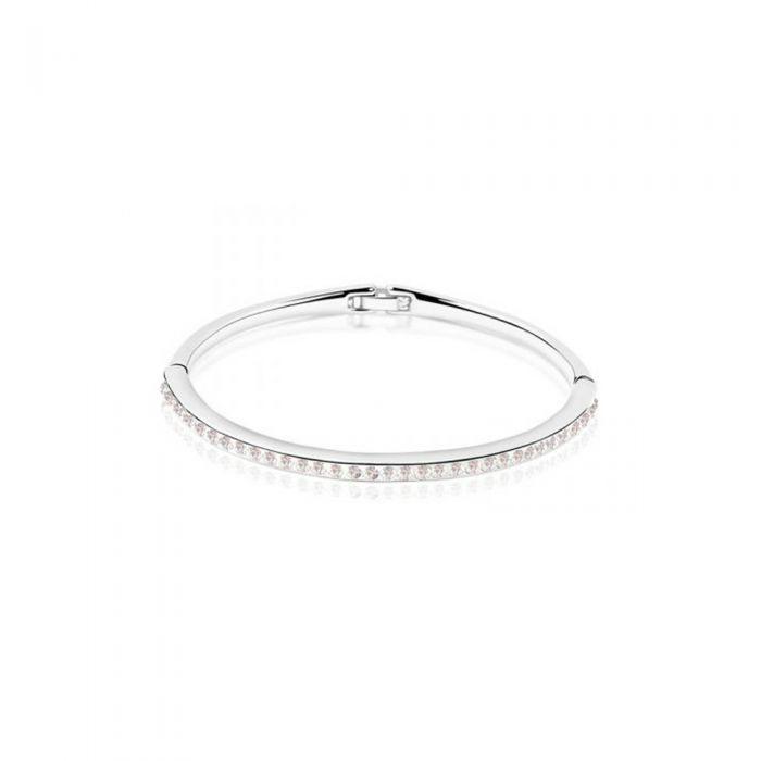 Image for Childrend White Swarovski crystals bangle bracelet