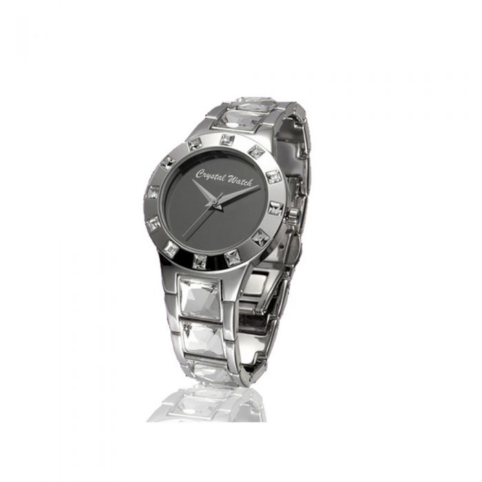 Image for Crystal Watch with genuine white Swarovski Crystal Elements