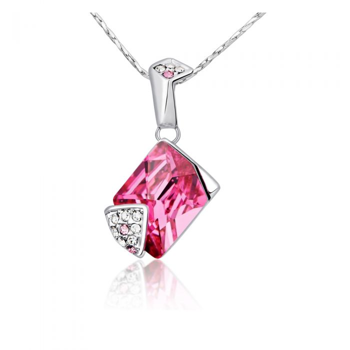 Image for Swarovski - Pink Swarovski Crystal Element Pendant
