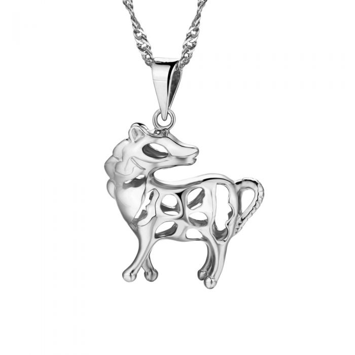 Image for Horse Pendant in Sterling Silver