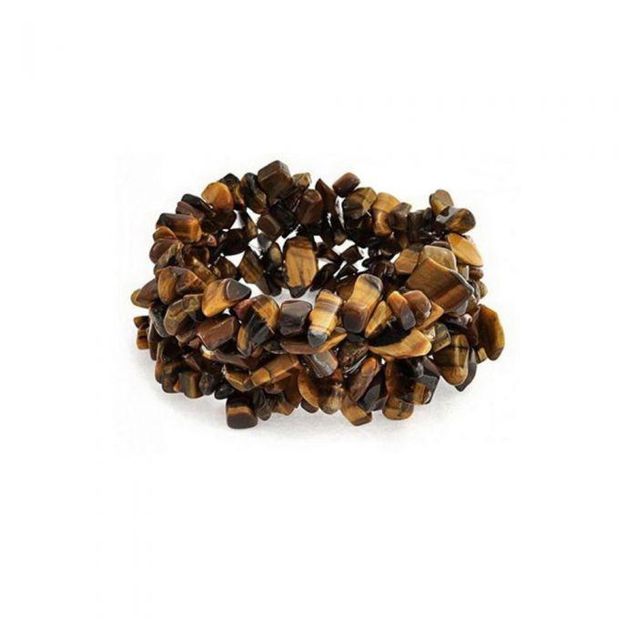 Image for Brown Tiger Eye Gemstones Stretch Women Bracelet