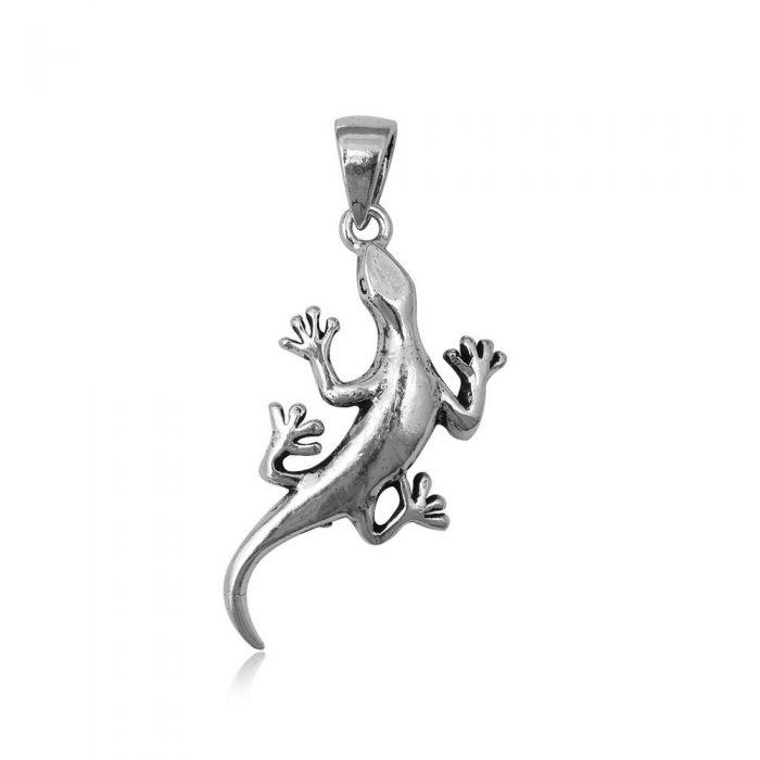 Image for 925 Silver Lizard Pendant