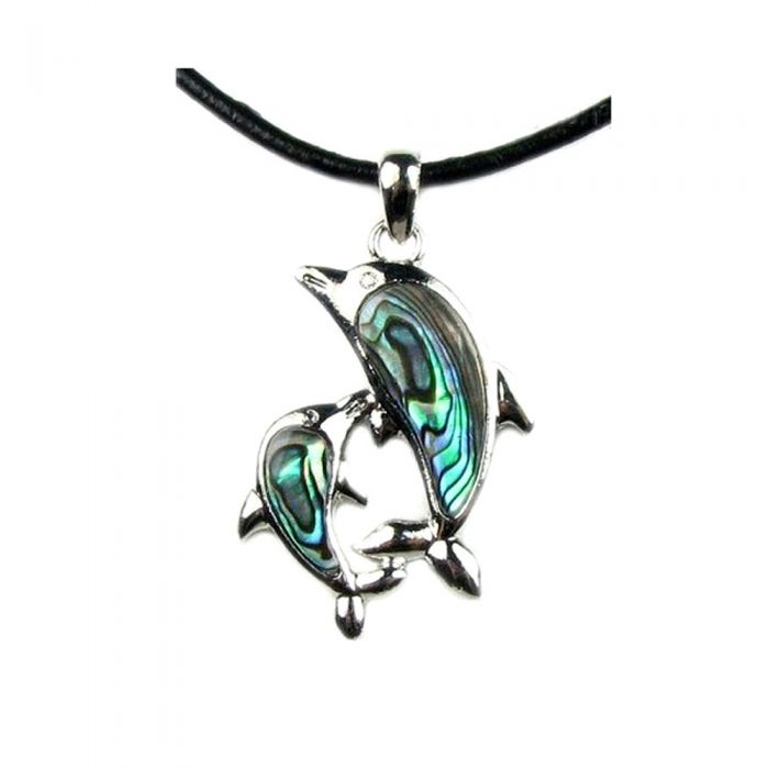 Image for Abalone Pendant Dolphin