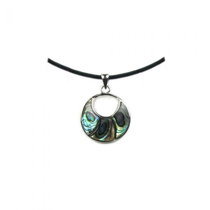 Image for Abalone Circle Pendant