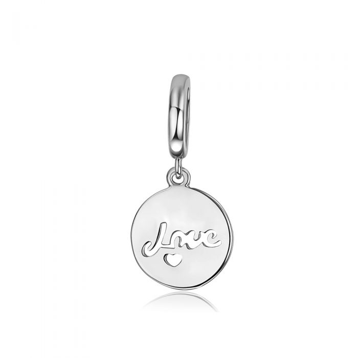 Image for Love Charms Beads Stainless Steel