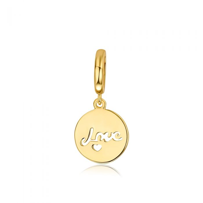 Image for Love Charms Beads Yellow Gold Stainless Steel