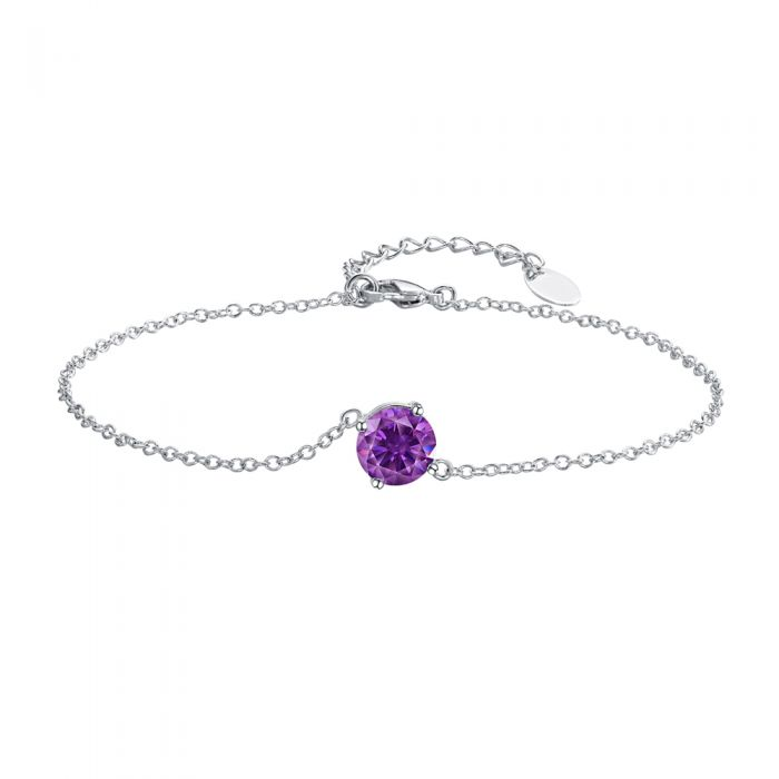 Image for Purple Swarovski Crystal Elements Bracelet