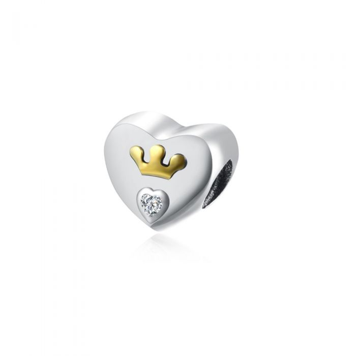 Image for Heart Crown and Crystal Beads
