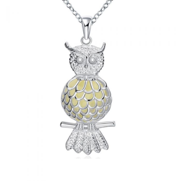 Image for Fluorescent Owl Pendant