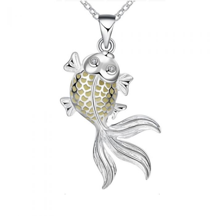 Image for Fluorescent Fish Pendant