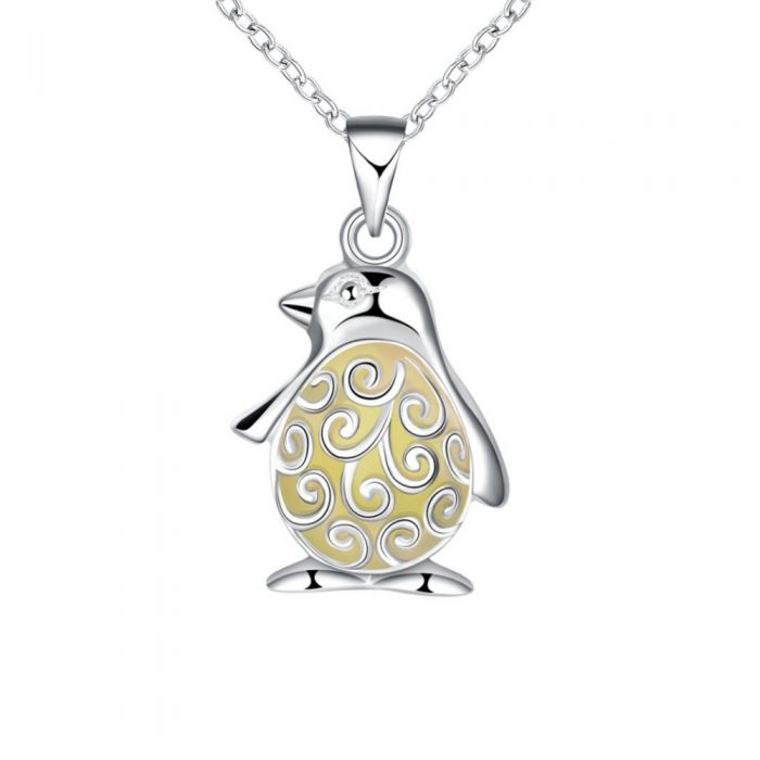 Image for Blue Fluorescent penguin Pendant
