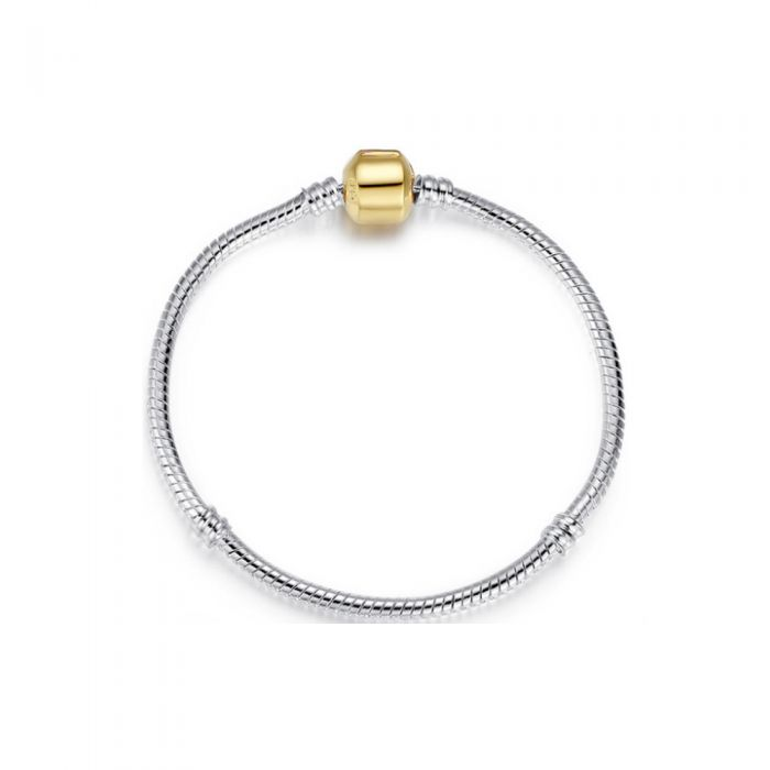 Image for Stainless Steel Bracelet for Beads and Charms - 20 cm