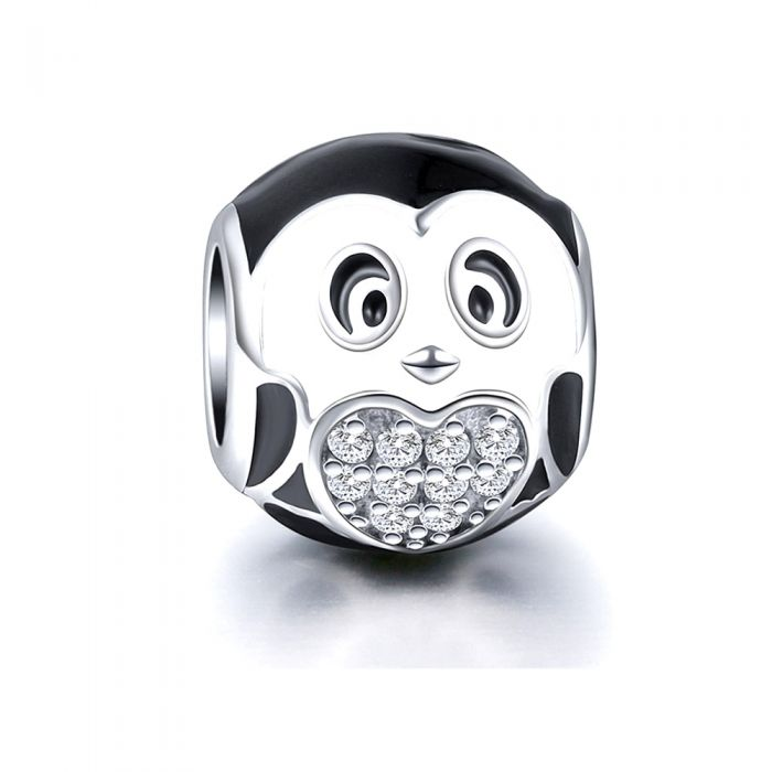 Image for 925 Silver Penguin Charms bead