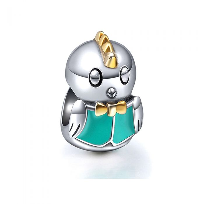 Image for 925 Silver Bird Charms bead