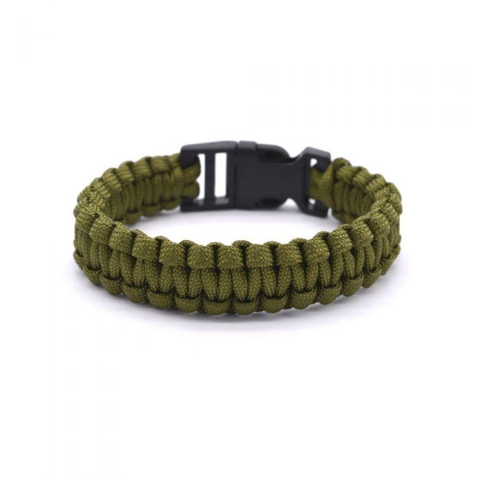 Image for Khaki Wire Survival Bracelet