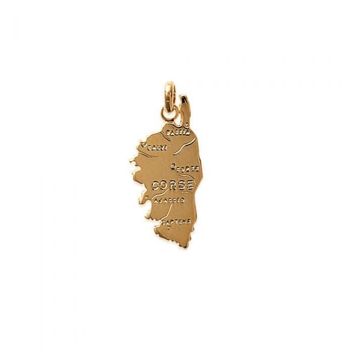 Image for Yellow Gold Plated Women or Men Corsica Pendant