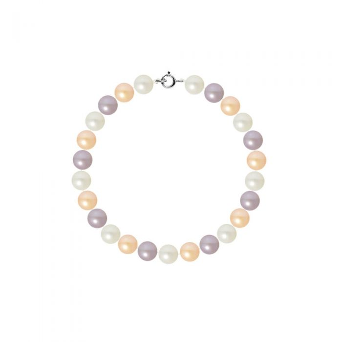Image for AA Multicolor Freshwater Pearl Women Bracelet and 750/1000 white Gold Clasp