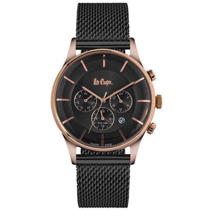 Image for Lee Cooper Men's Watch and Black Milanese Mesh Bracelet