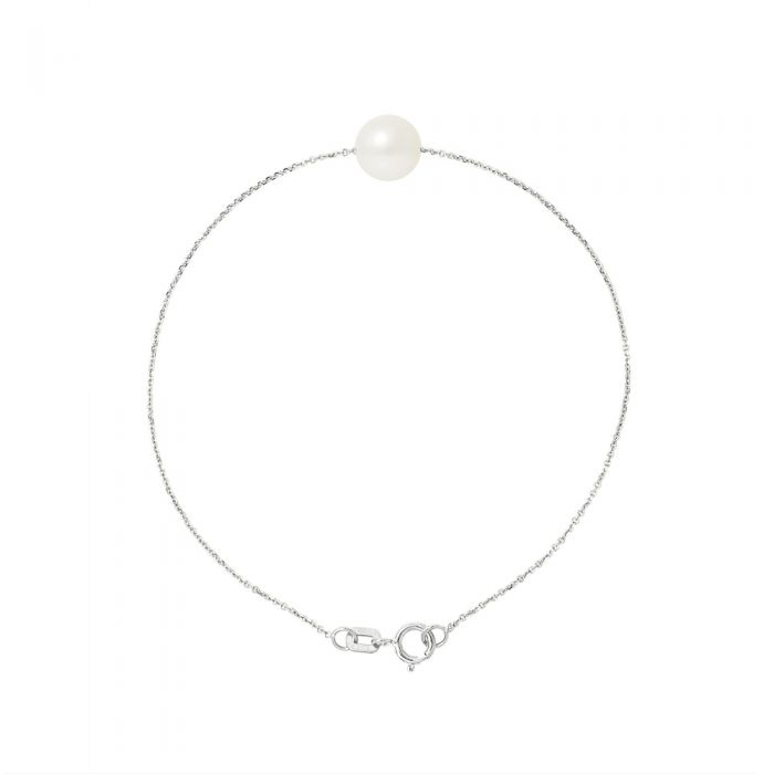 Image for AA White Freshwater Pearl Bracelet and 750/1000 white Gold