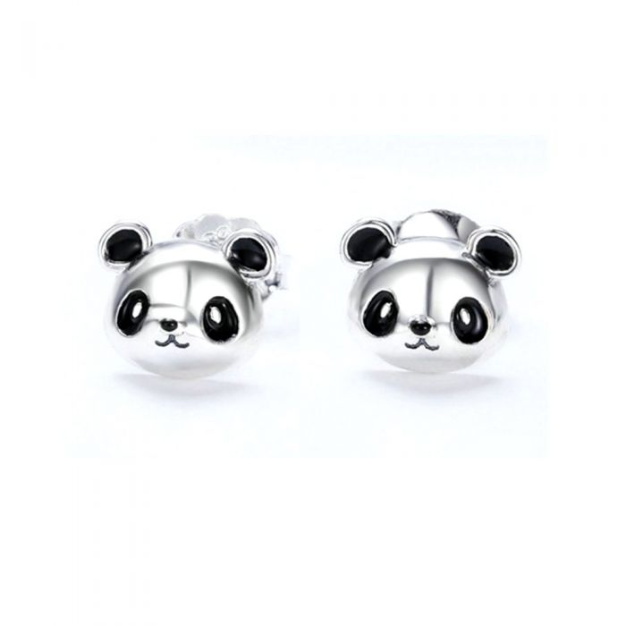 Image for 925 Silver Panda Earrings