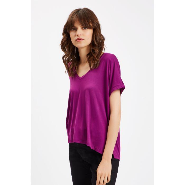 Image for Rainbow Ricochet Short Sleeve T-Shirt in Purple