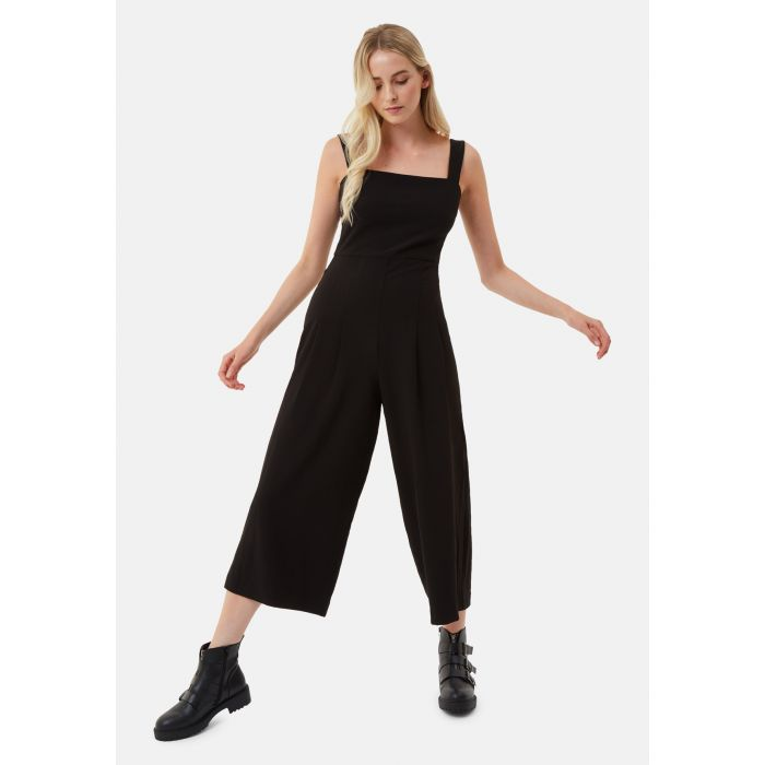 Image for Snow Drift Dungarees Jumpsuit in Black