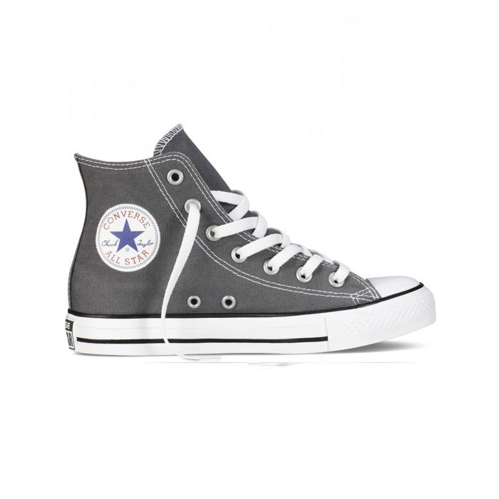 Image for All Star Chuck Taylor charcoal hi-top trainers