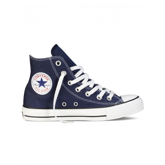 Image for All Star Chuck Taylor navy hi-top trainers