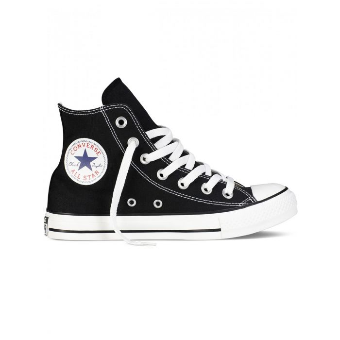 Image for All Star Chuck Taylor black and white hi-top trainers