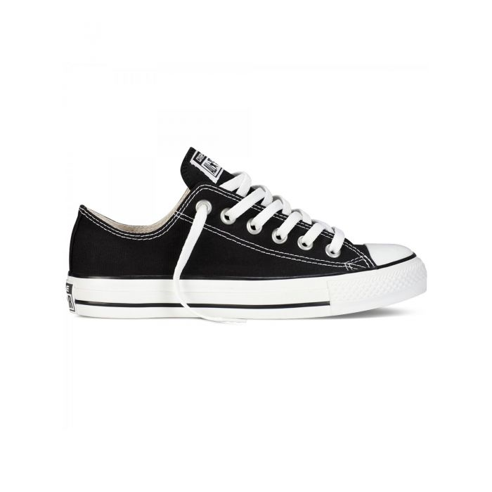 Image for All Star Chuck Taylor black and white low-top trainers
