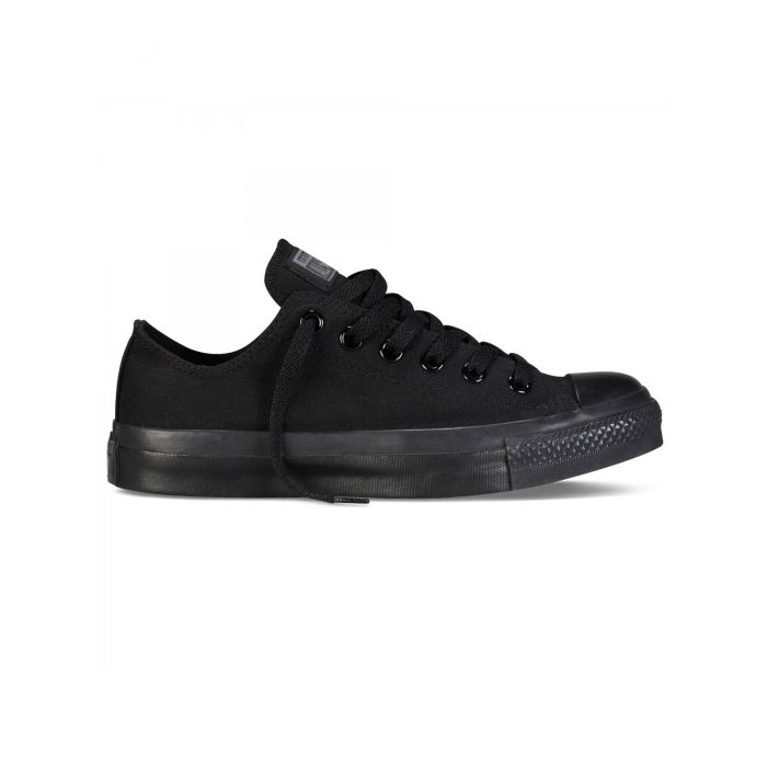 Image for All Star Chuck Taylor black low-top trainers