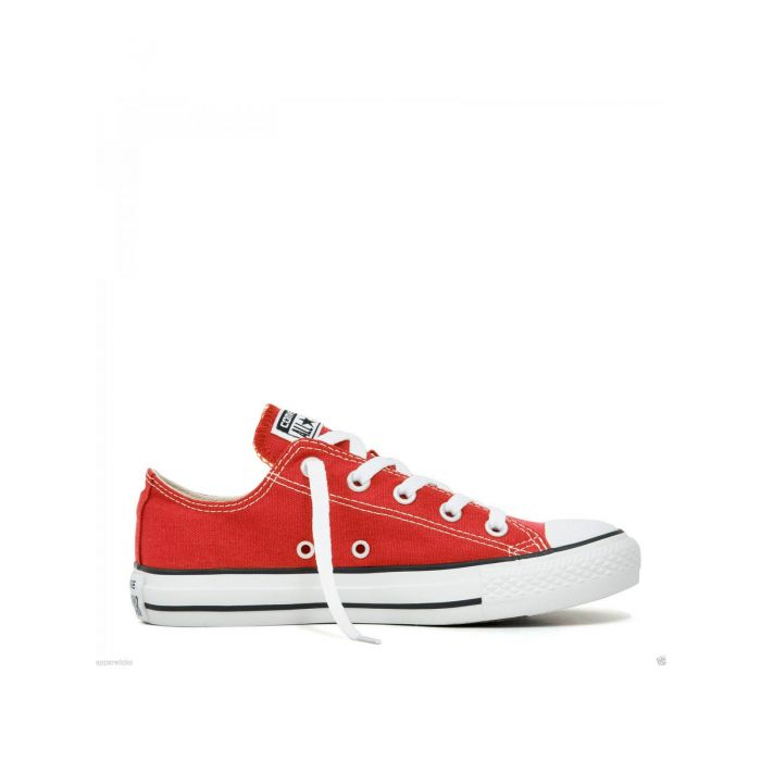 Image for All Star Chuck Taylor red low-top trainers