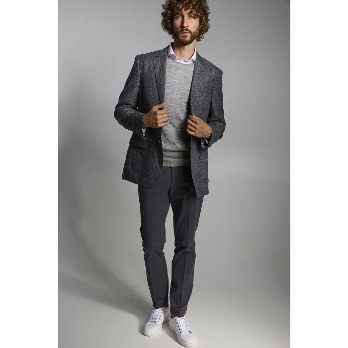 Image for Mens blue pure linen classic blazer