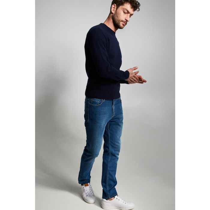 Image for Mens blue slim fit jeans