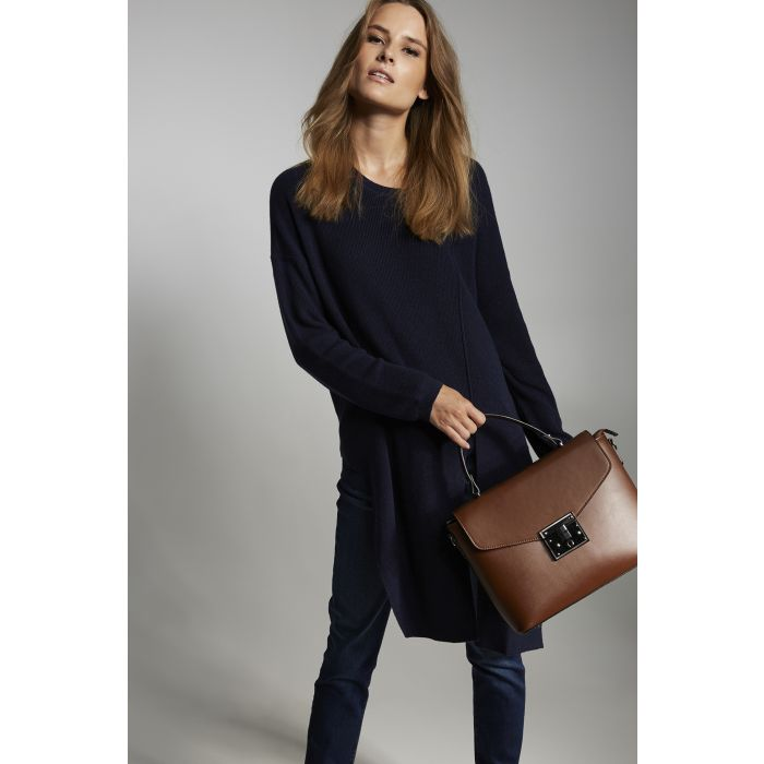 Image for Womens blue jumper