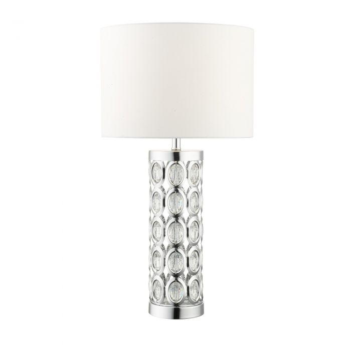 Image for Morena 61cm Polished Chrome Table Lamp