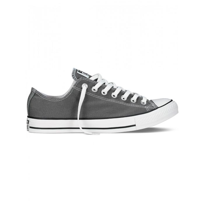 Image for All Star Chuck Taylor charcoal low-top trainers
