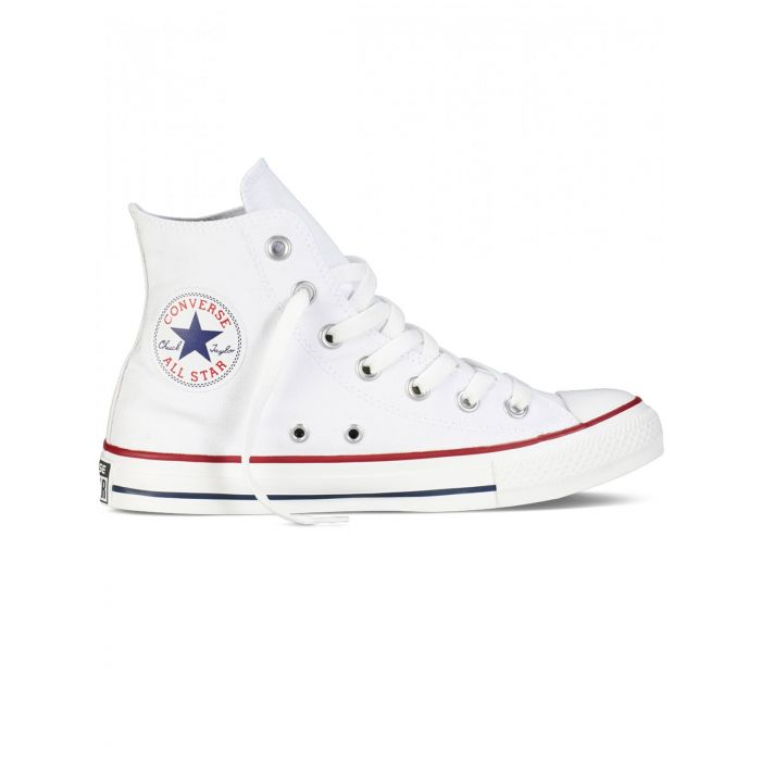 Image for All Star Chuck Taylor white hi-top trainers