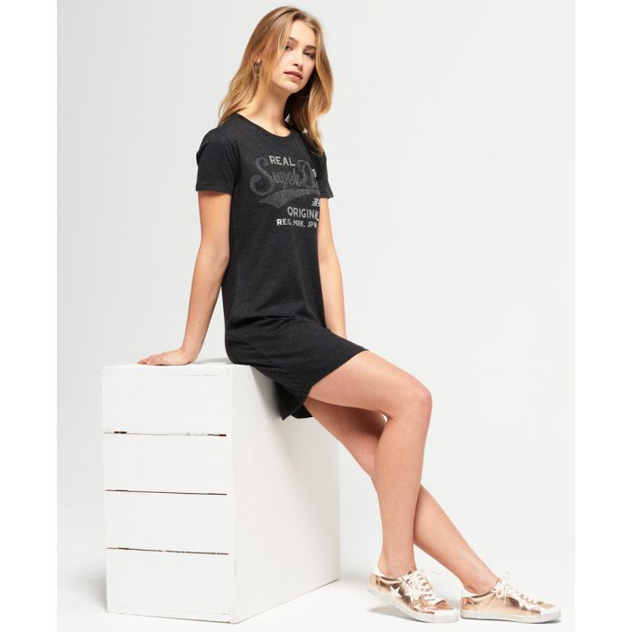 Image for Superdry Slim Line T-Shirt Dress