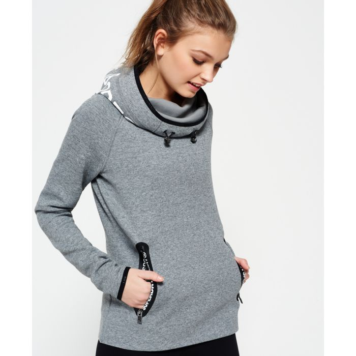 Image for Superdry Gym Tech Cowl Hoodie