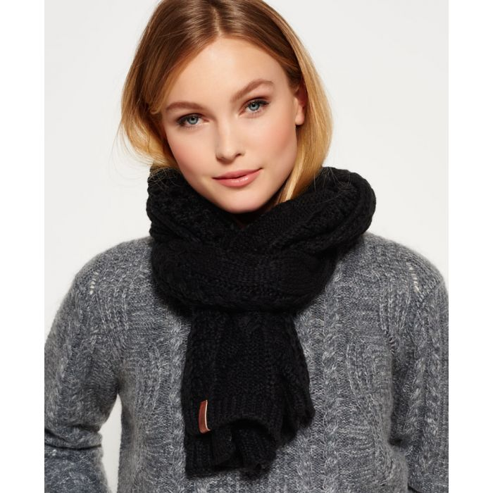 Image for Superdry North Cable Scarf