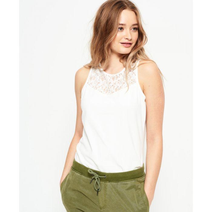 Image for Superdry Ivy Lace Vest Top