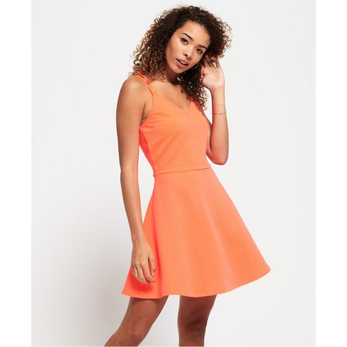 Image for Superdry Textured Skater Cami Dress