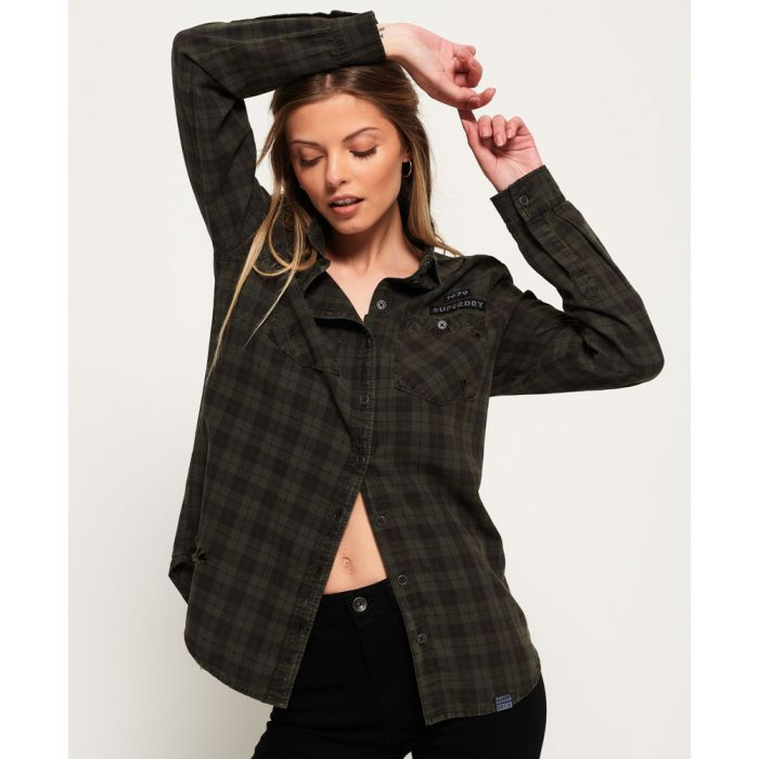 Image for Superdry Check Phoenix Shirt
