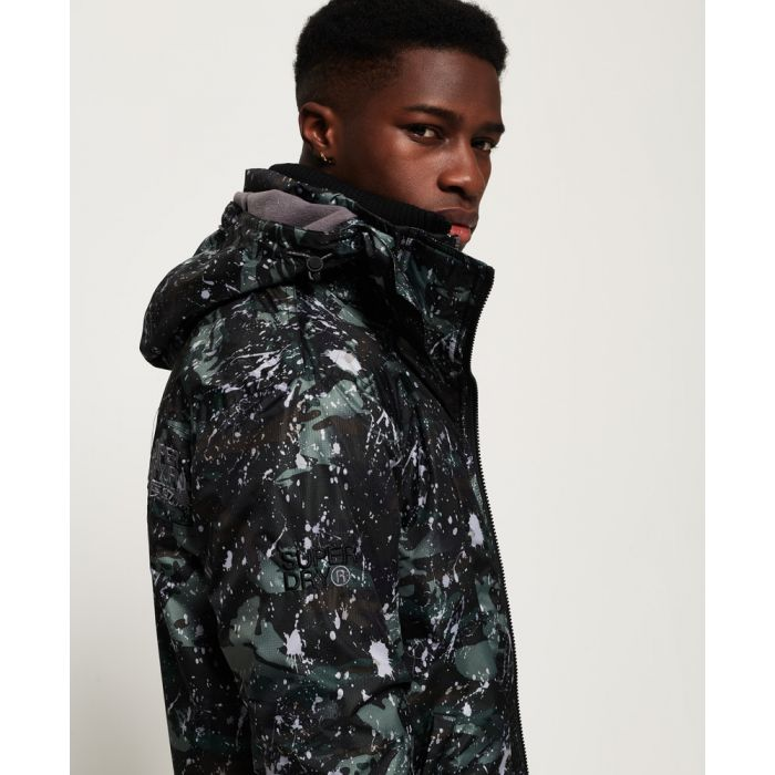 Image for Superdry Pop Zip Print Hooded Arctic SD- Windcheater Jacket