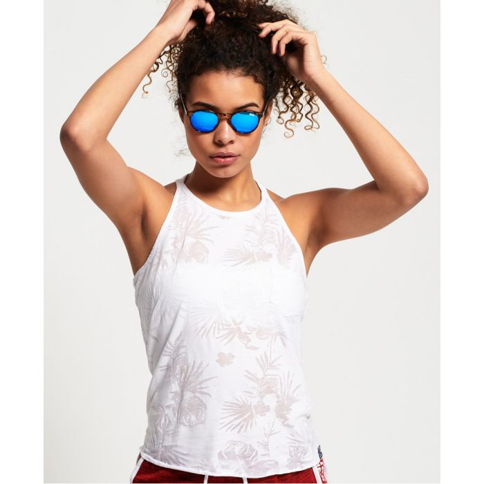 Image for Superdry Tropical Burnout Vest Top